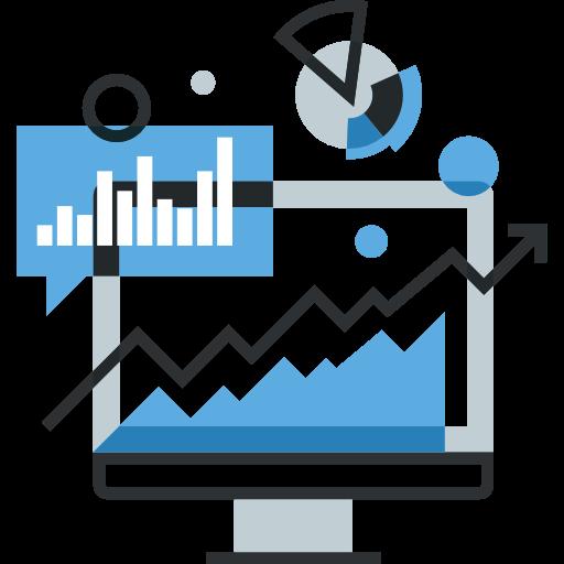 Data critical to procurement icon